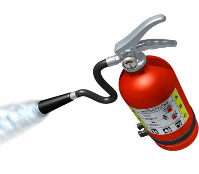 6516505 - fire extinguisher in action